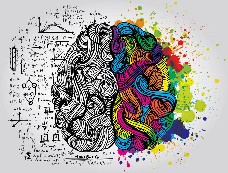 Ative várias áreas do seu cérebro para ser mais criativo
